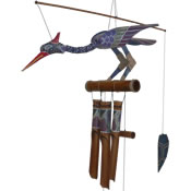 Cohasset Passion Bobbing Head Bamboo Windchime