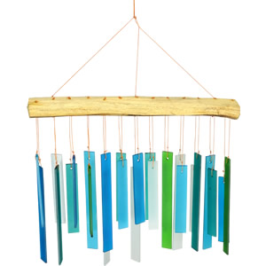 Gift Essentials Sea Glass Wind Chime