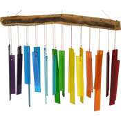 Gift Essentials Glass Wind Chime - Color Spectrum